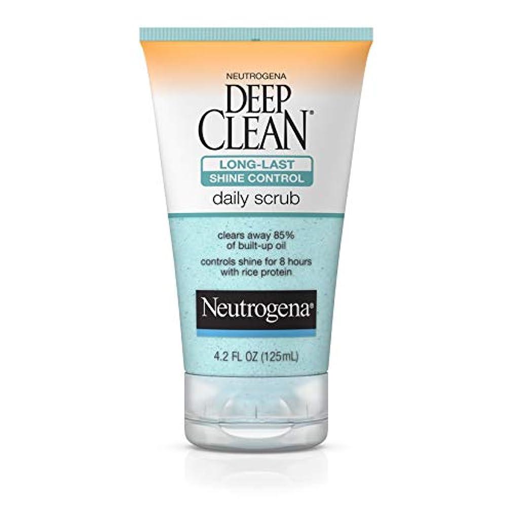 ドラマドラマ甘美なNeutrogena Deep Clean Shine Control Daily Scrub 124 ml (並行輸入品)