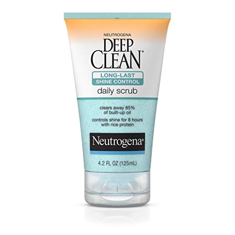 適性ラボビタミンNeutrogena Deep Clean Shine Control Daily Scrub 124 ml (並行輸入品)