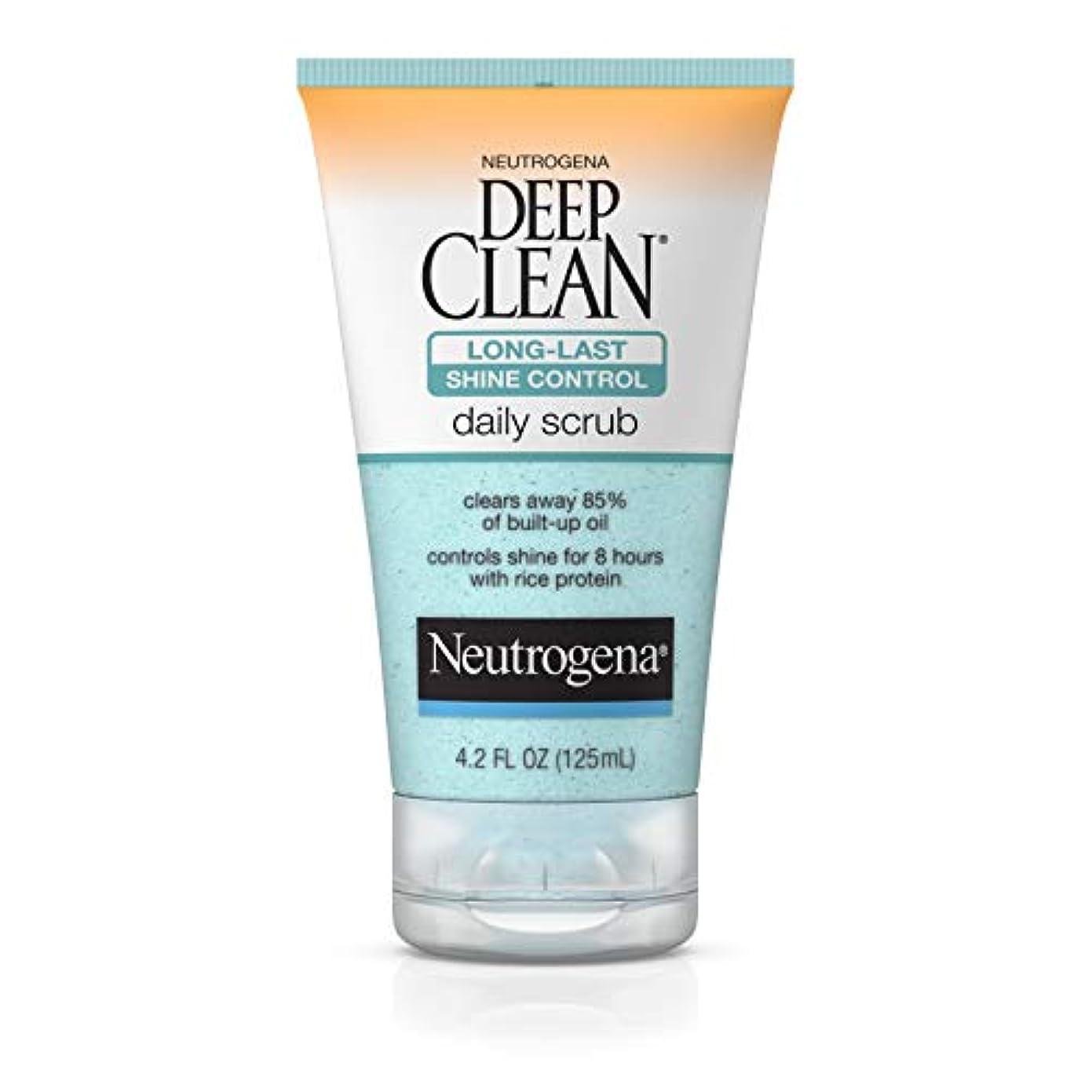 費やすの慈悲でホースNeutrogena Deep Clean Shine Control Daily Scrub 124 ml (並行輸入品)