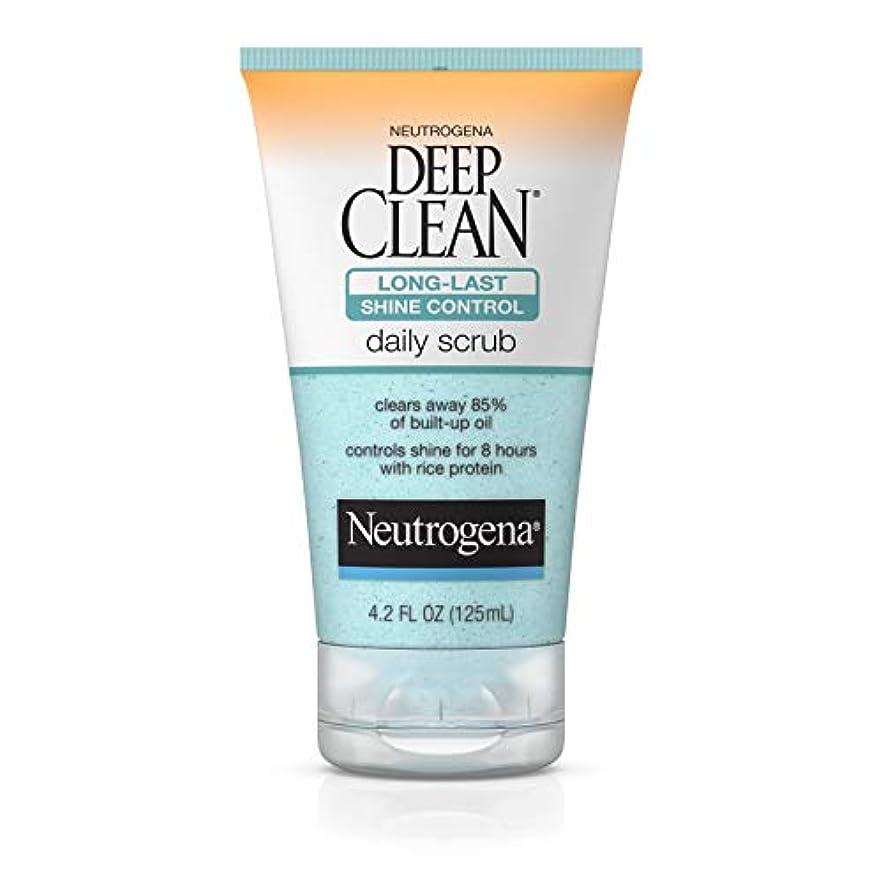 ベーリング海峡見ましたうねるNeutrogena Deep Clean Shine Control Daily Scrub 124 ml (並行輸入品)