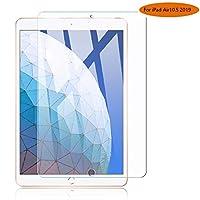 AnnTec iPad Air 10.5 2019 ガラスフィルム 硬度9H 2.5D 専用液晶保護フィルム 防指紋強化ガラス 気泡レス 飛散防止 撥油性 高透過率 iPad Air 10.5 2019 フィルム