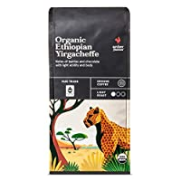 Archer Farms Organic Ethiopian Yirgacheffe Light Roast Whole Bean Coffee 10oz, pack of 1