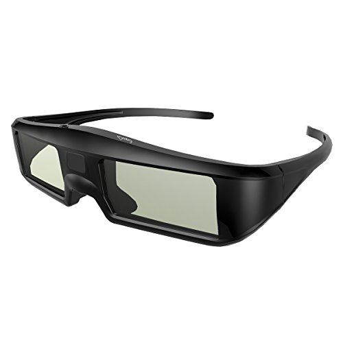 Exquizon G06 Bluetooth互換 アクティブシャッター方式 3Dメガネ 充電式 120Hz 技術 度付き眼鏡 TV LG/Sony/Panasonic/Sharp/Toshiba/Mitsubishi/Philips/Samsung/Bluetooth 3D プロジェクター など対応
