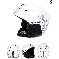 Easylifee スキーヘルメットスノーボードヘルメット 怪我防止 耳当て/裏地付き 調節自由 耐衝撃 防風 防寒 安全 スキー スノーボード バイク 適用 男女兼用