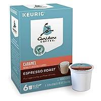 Caribou Caramel Espresso Dark Roast Keurig K-Cups カリブーキャラメルエスプレッソダークローストキューリグKカップ 6杯分 [並行輸入品]