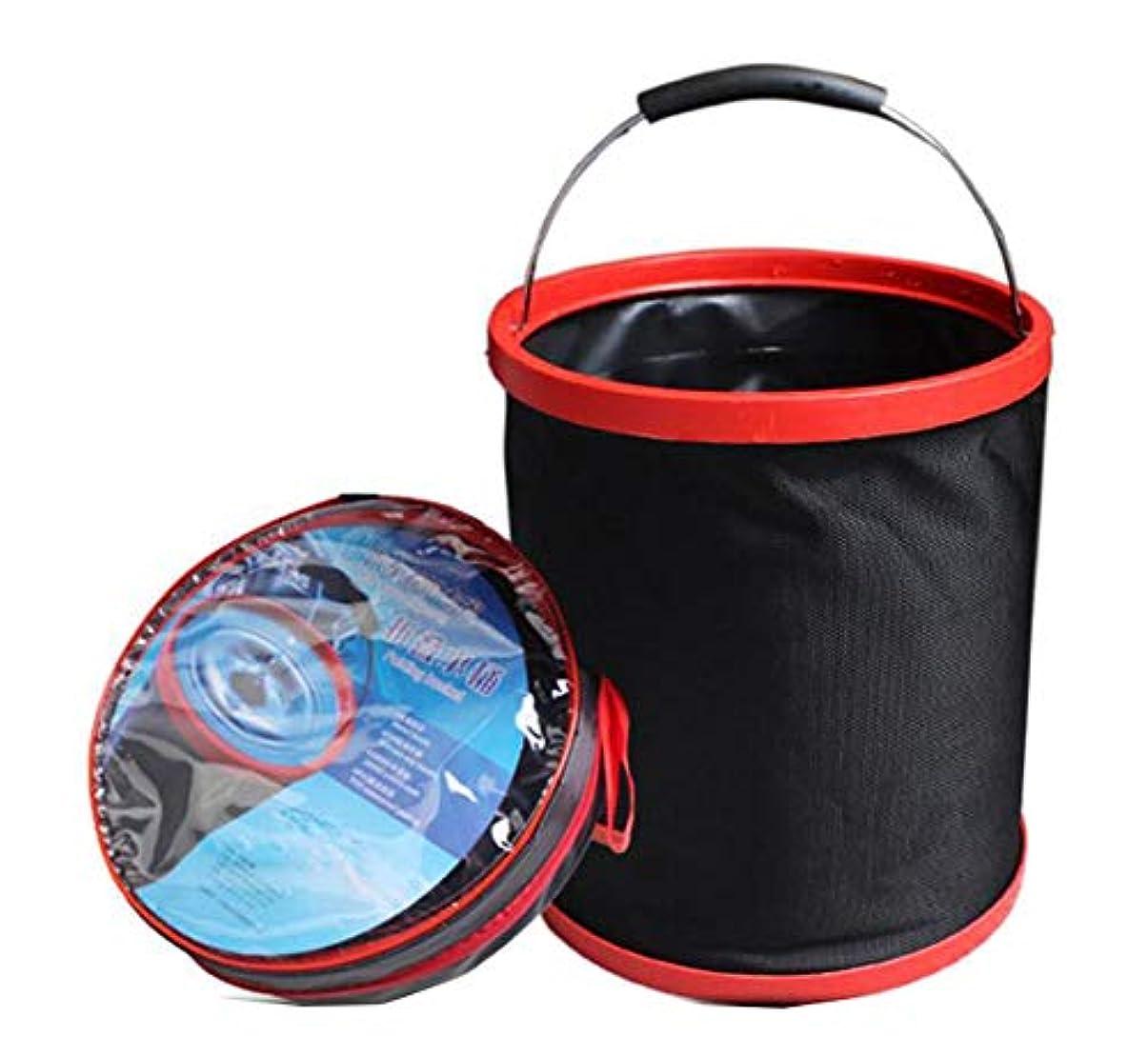 徴収ダメージシャーロックホームズアウトドアキャンプハイキングWash Foldingバケット多機能折りたたみ可能なバケット