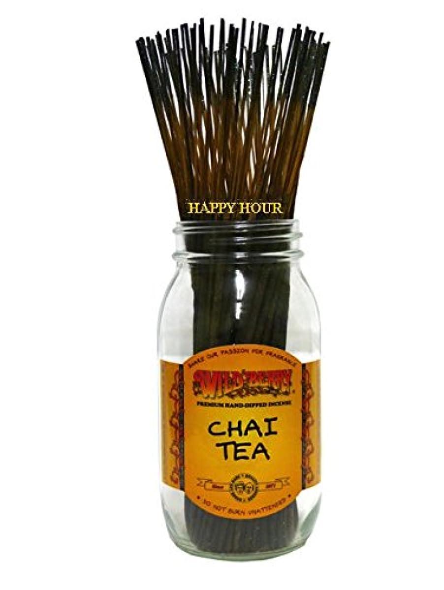 床を掃除する擬人補足Wildberry 【CHAI TEA チャイティー】オリジナルジップパック10本入り スティック