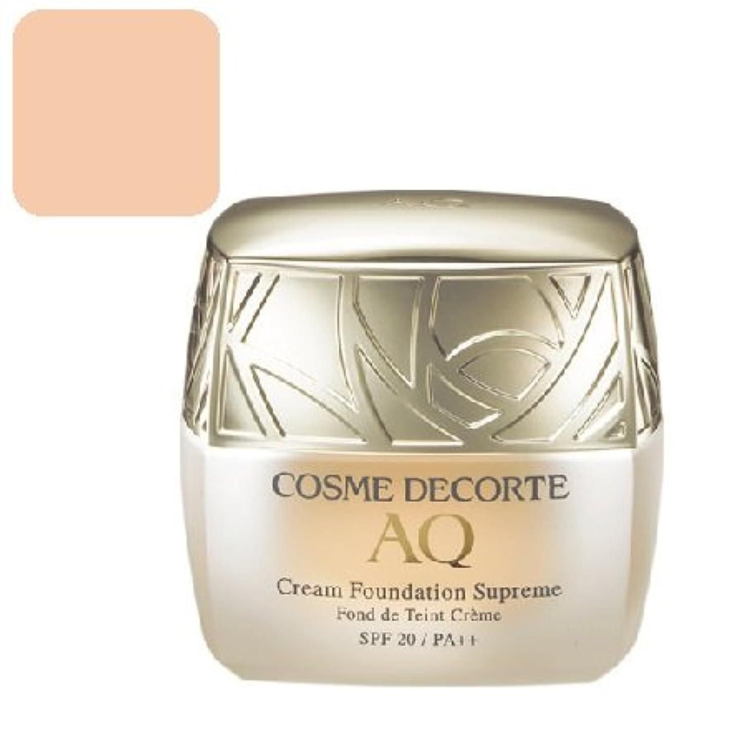 証言する花輪豊富なコスメデコルテ AQ クリームファンデーション シュープリーム<カラー:302>