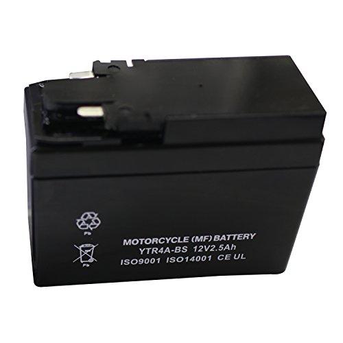 バイク用 バッテリー 液入り 充電済み YTR4A-BS ( CT4A-5 / YTR4A-BS / GTR4A-5 / FTR4A-BS )