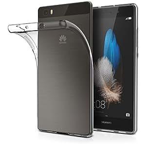 Huawei P8 Lite ケース クリア ソフト シリコン TPU ケース 5.0型ワイド専用