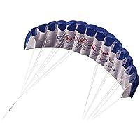 Lixada 微風で揚がる凧 アウトドアスポーツ デュアルラインスタント 1.4mパワーソフトカイト ハンドル30mライン付き