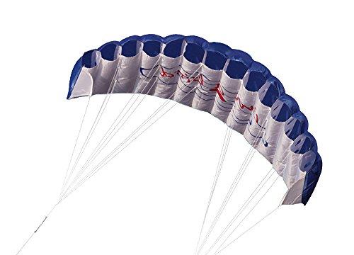 Lixada 微風で揚がる凧 アウトドアスポーツ デュアルラインスタント 1.4mパワーソフトカイト...