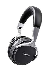 DENON ワイヤレスヘッドホン Bluetooth/ノイズキャンセリング対応 ブラック AH-GC20