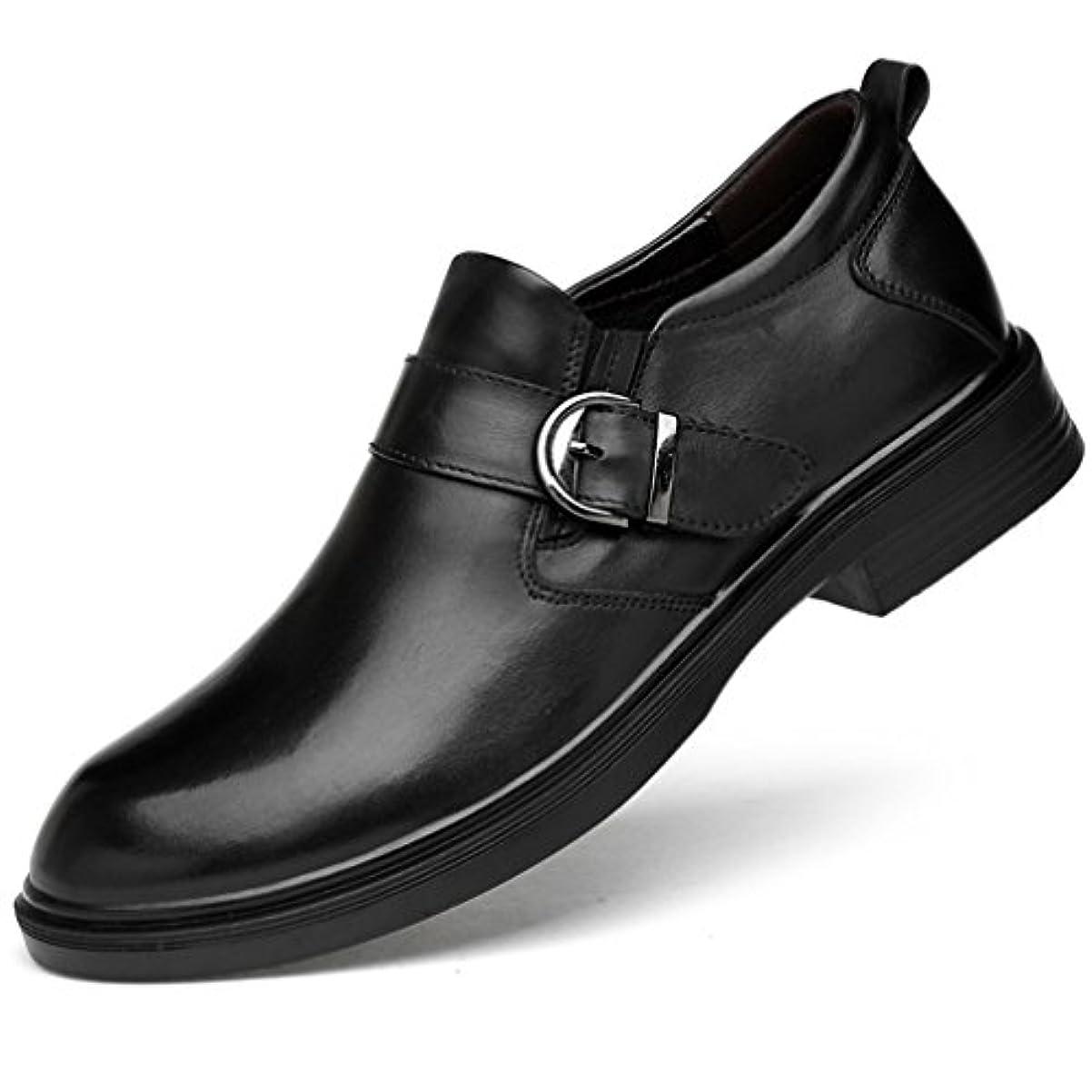 ジェットイタリックキャンペーンWEWIN ビジネスシューズ 紳士靴 革靴 メンズ 本革 モンクストラップ キングサイズ フォーマル 結婚式 ファッション 通気性 防滑 黒 ブラック