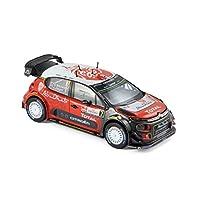 ノレブ 1/43 シトロエン C3 WRC 2017年ポーランド #7 A.Mikkelsen / A.Jaeger