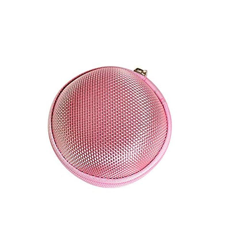 残基オリエンタル派生するChinashow エッセンシャル オイル キャリング ケース - エッセンシャル オイル スモール ストレージ オーガナイザー フォーム インサート と 7本 ボトル付き(2ml)ピンク