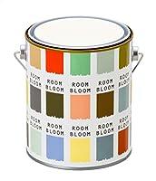 水性ペンキ(室内塗料) ROOMBLOOMMatte 1kg カラー:rainy white(ホワイト 白 ややくすんだ白)