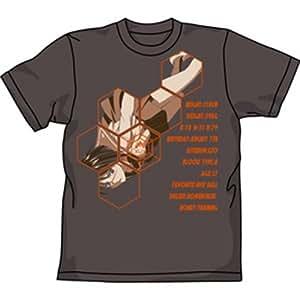 武装錬金 プロフィール Tシャツ チャコール : サイズ M
