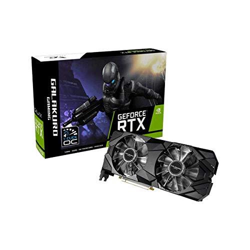 『玄人志向 NVIDIA GeForce RTX 2070 SUPER 搭載 グラフィックボード 8GB デュアルファン GALAKURO GAMINGシリーズ GG-RTX2070SP-E8GB/DF』のトップ画像