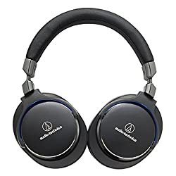 audio-technica密閉型ポータブルヘッドホン ハイレゾ音源対応 ブラック ATH-MSR7 BK