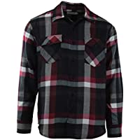 Mens Premium Button Down Flannel Long Sleeve Shirt and Jackets (Many Patterns and Styles to Choose from)