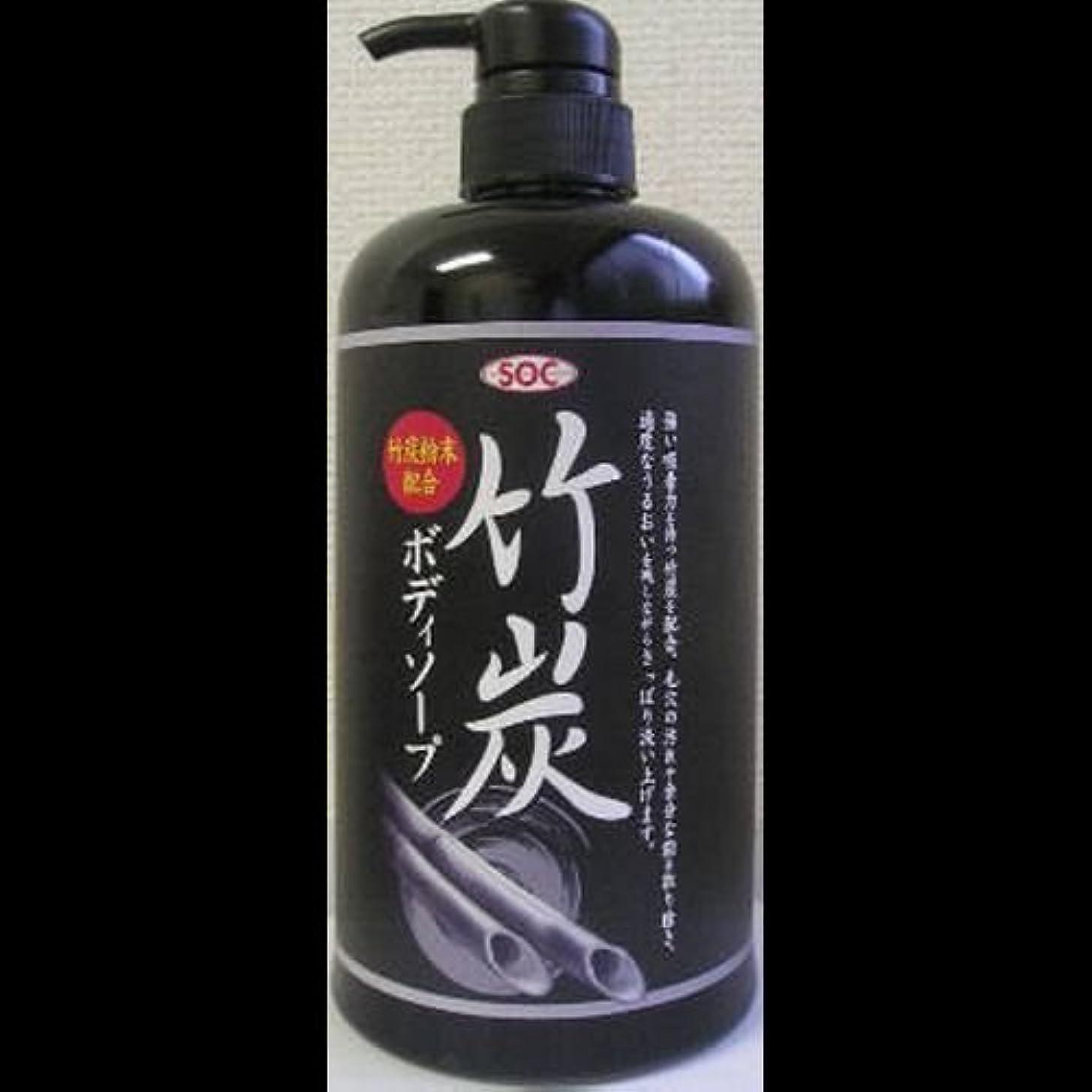 乳製品せせらぎパイルSOC 竹炭ボディソープ ×2セット
