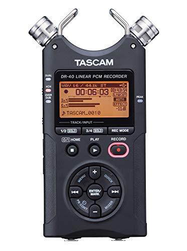 TASCAM 24bit/96kHz対応リニアPCMレコーダー DR-40VERSION2