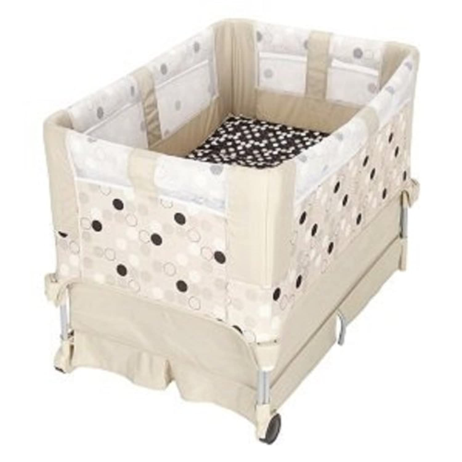 The First Years Up 'n Down 2 in 1 Bassinet to Playard-Tan by The First Years