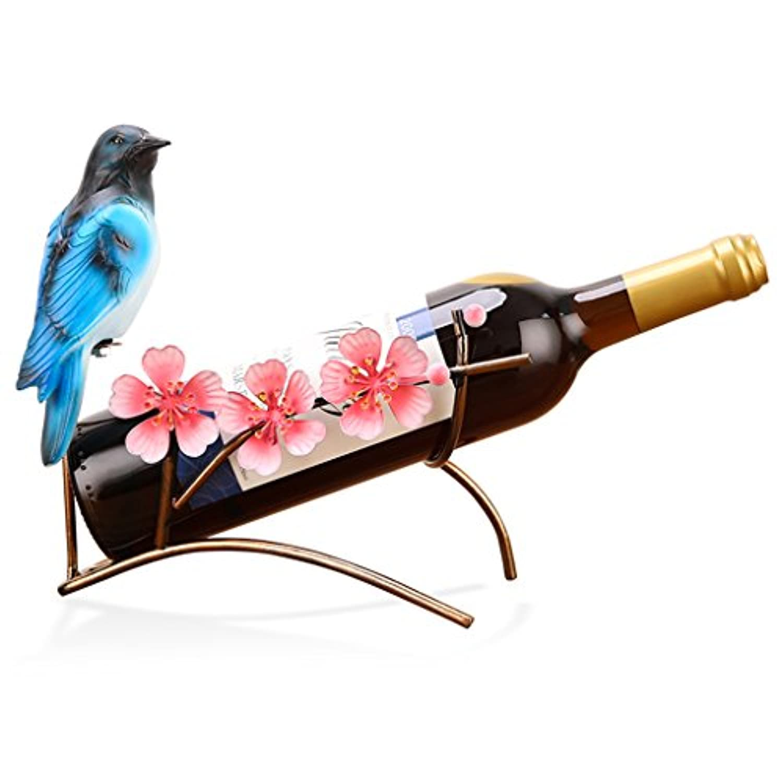 ワインラック ワインラックグレープカサワインラック彫刻工芸家の装飾ワインボトルラックワインキャビネット装飾装飾品 (Color : Brown, Size : 25 * 13 * 22cm)
