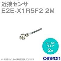 オムロン(OMRON) E2E-X1R5F2 2M 近接センサ シールドタイプ (M8・検出距離1.5mm) (直流3線式) (コード引出タイプ 2m) (PVC(耐油)) (PNP) NN