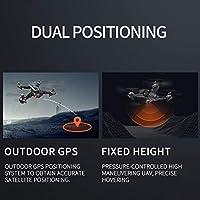 1080P HDカメラ付きCS-5 GPSドローン折りたたみ式ドローン4軸ヘリコプターワンリターンキーWIFI FPV RCヘリコプターボーイトイ-マットブラック2 *バッテリー