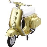 ex:ride ride.001 ヴィンテージバイク メタリックイエロー  (ノンスケールABS製塗装済み完成品)