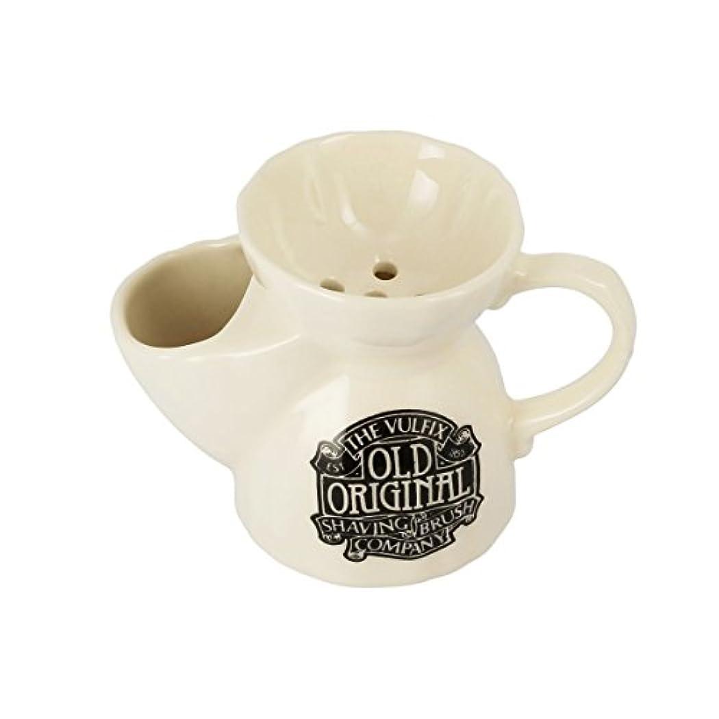 篭移住する注釈を付けるVulfix オールド オリジナル シェービングカップ&ソープ[海外直送品] [並行輸入品]