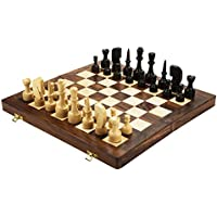 Chessncrafts Sheeshamwood Chess Set, Perfect For Gifting, Self-Use, Foldable Set, Board