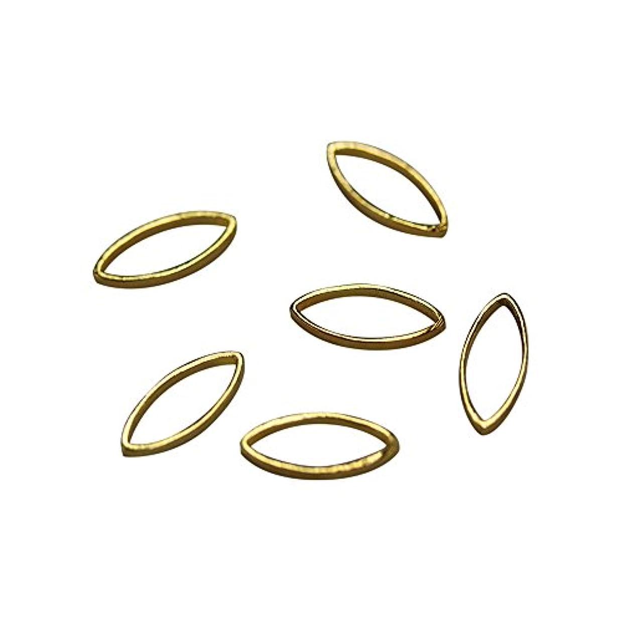 無許可むちゃくちゃ保護するBonnail×RieNofuji Loop leaf S ゴールド