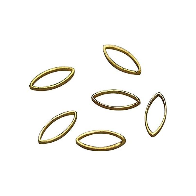 怒り穿孔する簿記係Bonnail×RieNofuji Loop leaf S ゴールド