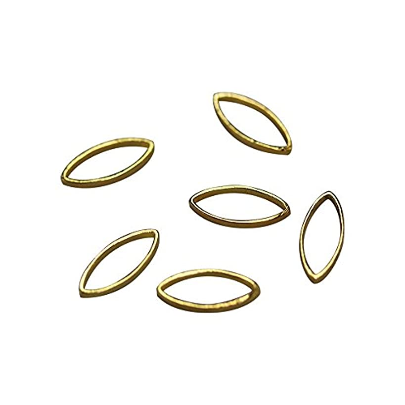 倫理オフ脊椎Bonnail×RieNofuji Loop leaf S ゴールド