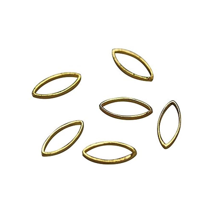 絡まる誤望遠鏡Bonnail×RieNofuji Loop leaf S ゴールド