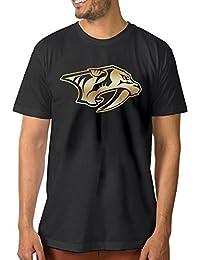 【エクセル】大きいサイズ ナッシュビル?プレデターズ ゴールド ロゴ Tシャツ ボーイズ 半袖 アウトドア フィットネス トレーニング クルーネック