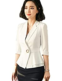 4795c7925549e8 Amazon.co.jp: ホワイト - スカートスーツ / スーツ: 服&ファッション小物