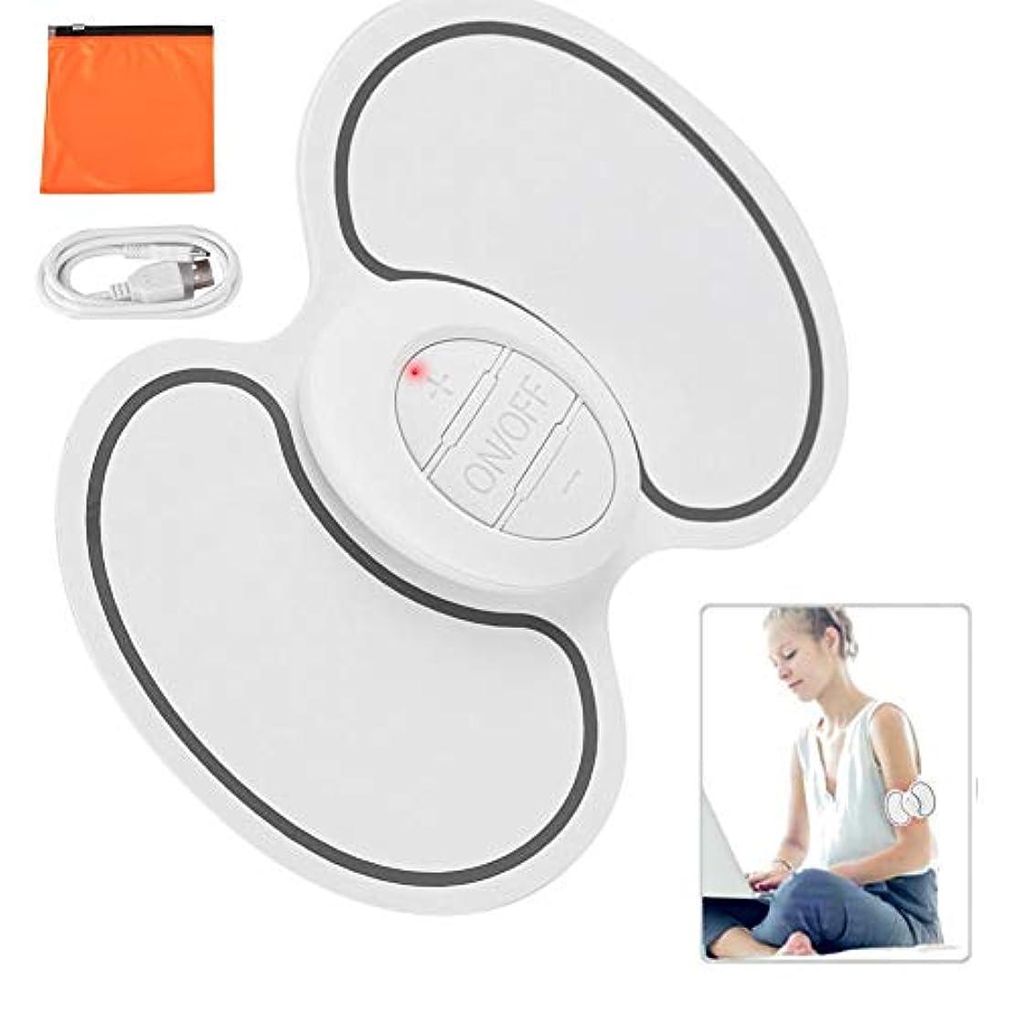 内部時期尚早化合物首、背中、肩、自宅での使用、車、オフィスの強度痛み疲労のための熱ディープニーディングマッサージ付きEMCネック肩筋パルスマッサージパッド