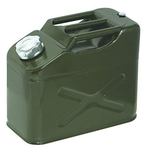 エマーソン ガソリン携行缶G 10L EM-142 給油ノズル付 安全・安心 [消防法適合品 KHK] 鋼板厚0.8mm EMERSON EM142