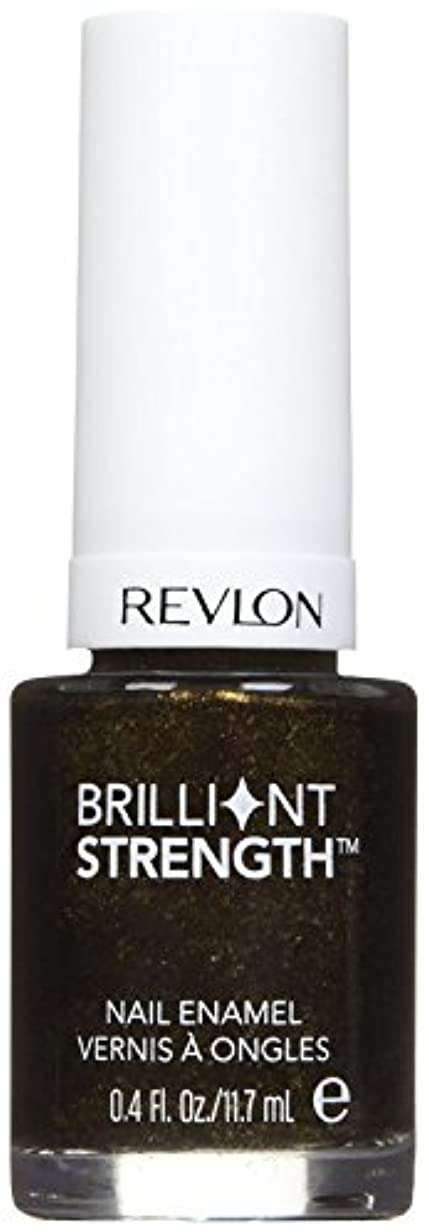 コンテストコメンテーター航空会社REVLON BRILLIANT STRENGTH NAIL ENAMEL #100 ENTHRALL