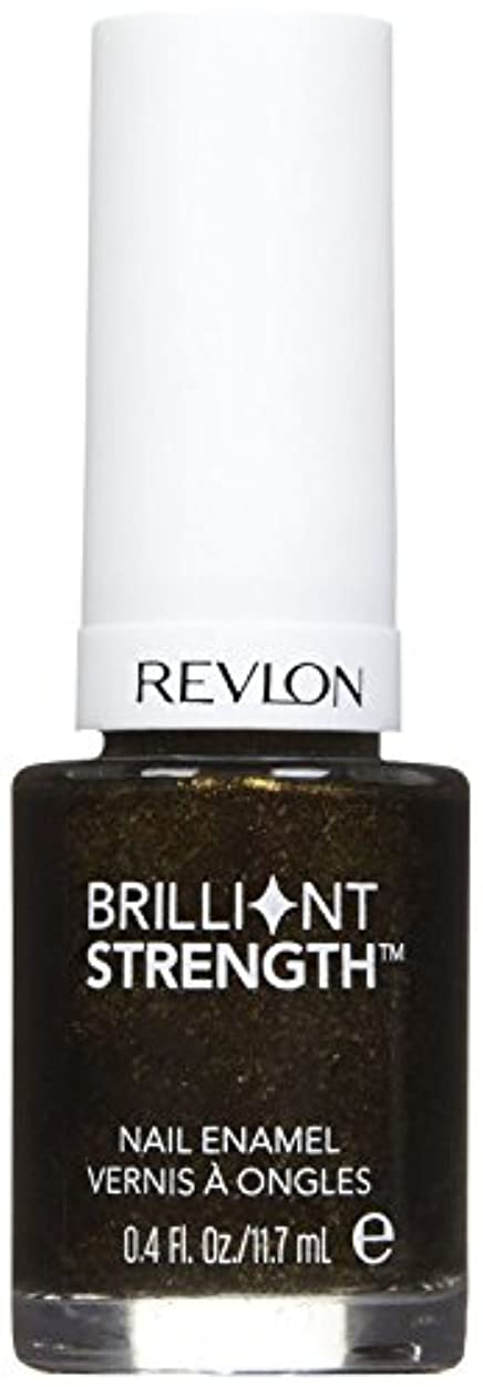 ダルセット罪悪感パフREVLON BRILLIANT STRENGTH NAIL ENAMEL #100 ENTHRALL