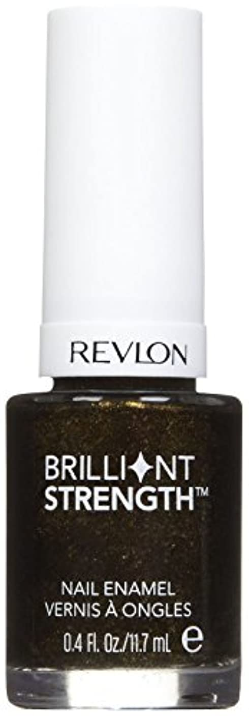 トレーニング風刺持続的REVLON BRILLIANT STRENGTH NAIL ENAMEL #100 ENTHRALL