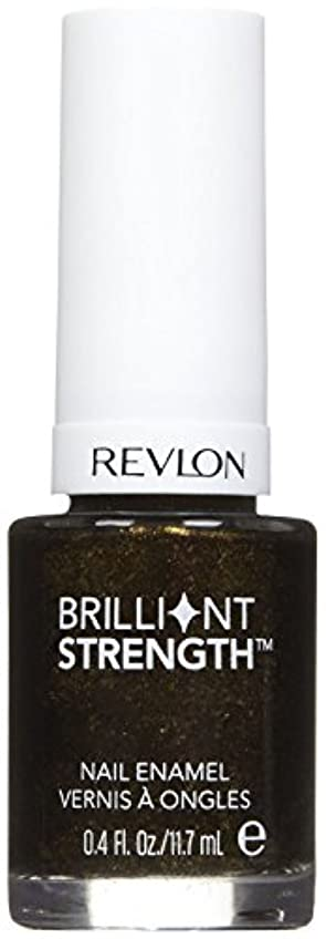 薬理学襟パックREVLON BRILLIANT STRENGTH NAIL ENAMEL #100 ENTHRALL