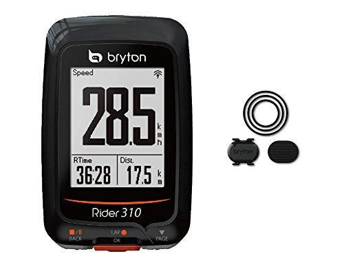 BRYTON(ブライトン) RIDER 310 C (ライダー310C) GPSサイクルコンピューター(ケイデンスセンサー付) TB0F0R310CBLK