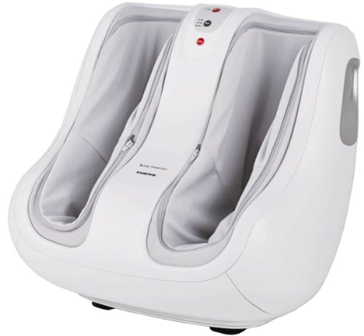 雹祖父母を訪問勧告スライヴ フットマッサージャー 【Leg master レッグマスター】 ホワイト MD-8500(W)
