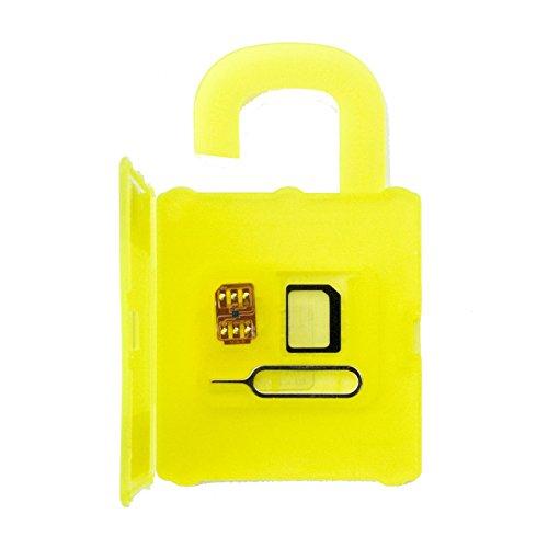 【VR57】シムロック解除基盤ベンチャーリソース30日間無料保証付 SIM 10+ iPhone7/7Plus/6S /6S Plus /6/ 6 Plus/5S/5C/5/ sim ロック解除アダプタ iOS 10 対応国内ドコモ格安シム用シムロック解除 SIM Unlock アンロック SIMフリー 解除アダプタ/VRSIM10+/RSIM10+/rsim10+/rsim10+/10+/GVEY/GPP/