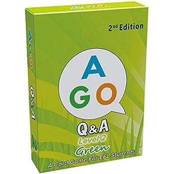 AGO Q&A グリーン レベル2 第2版 英語 カードゲーム